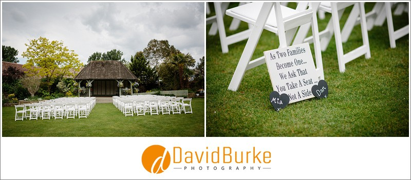 cooling castle barns outdoor ceremony