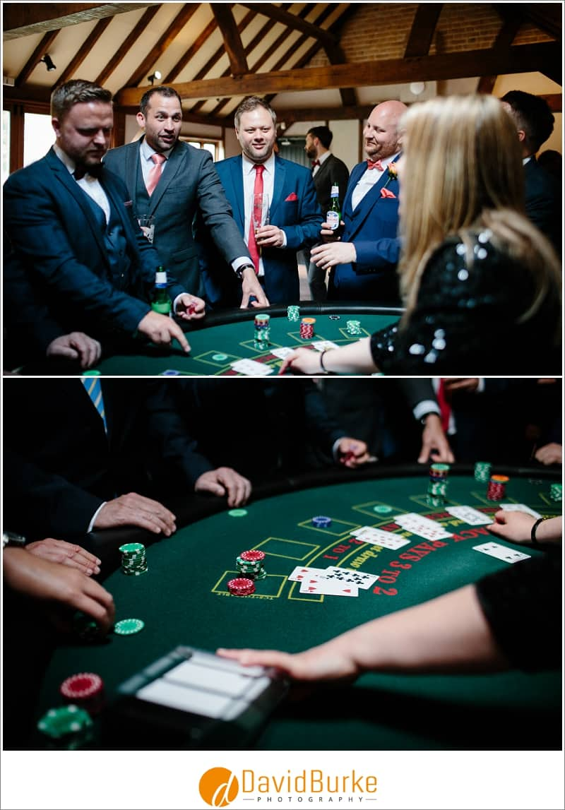 blackjack at wedding