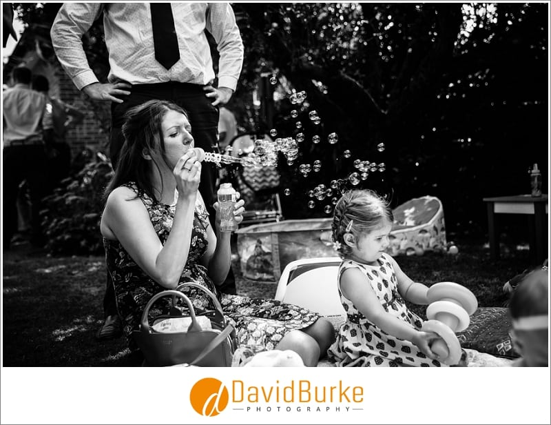 bubbles at christening