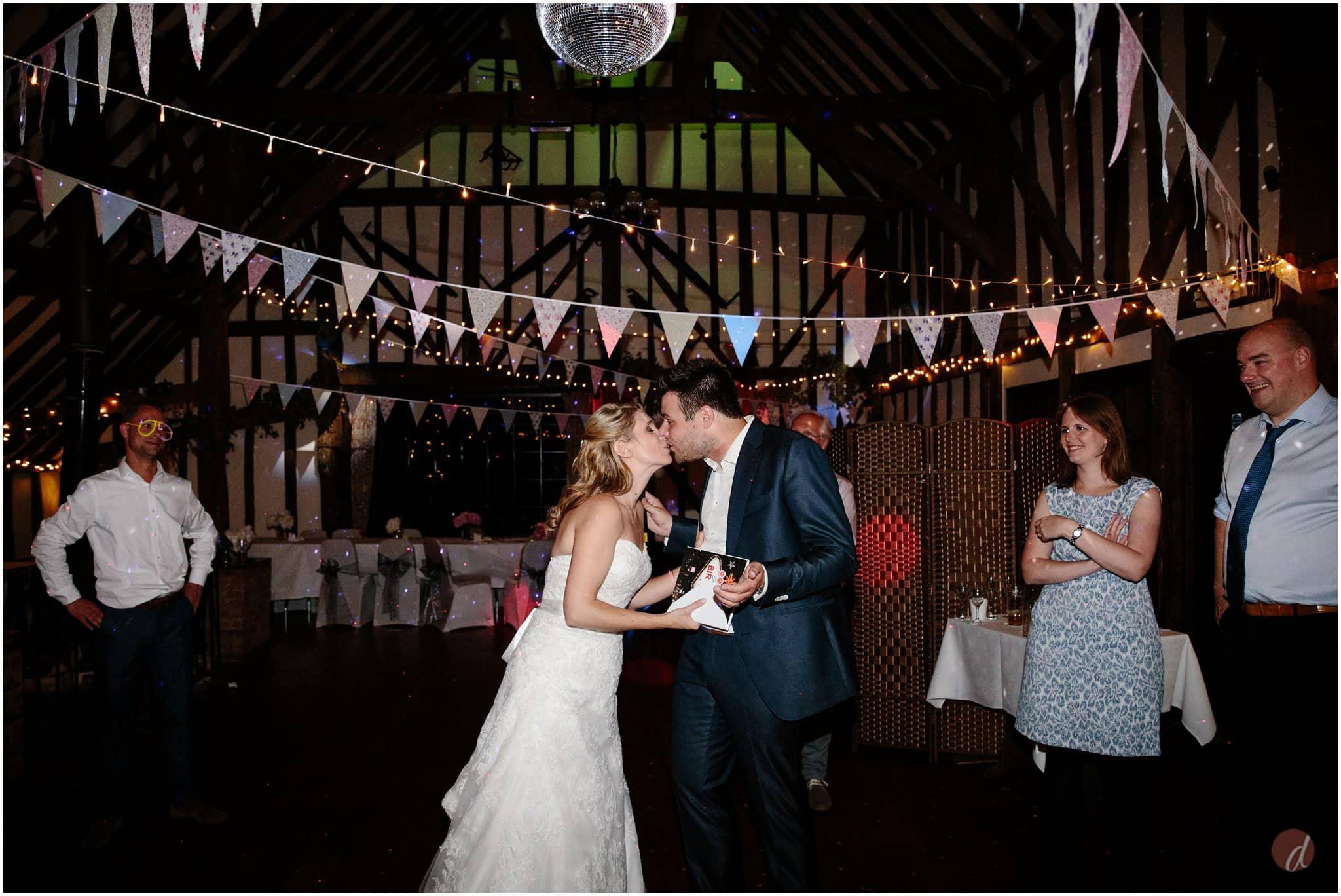 wedding sparkler shots