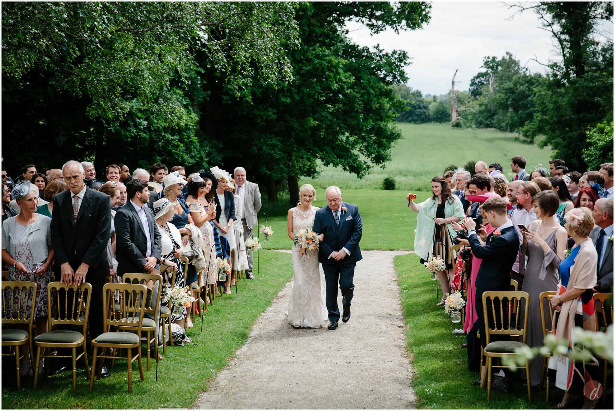 chiddingstone castle wedding photographs