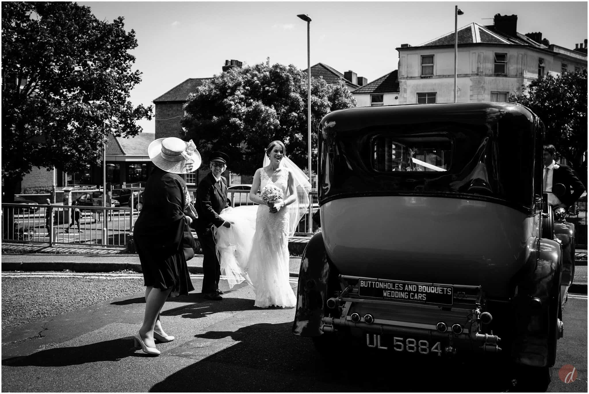 bride at Our Lady Help of Christians