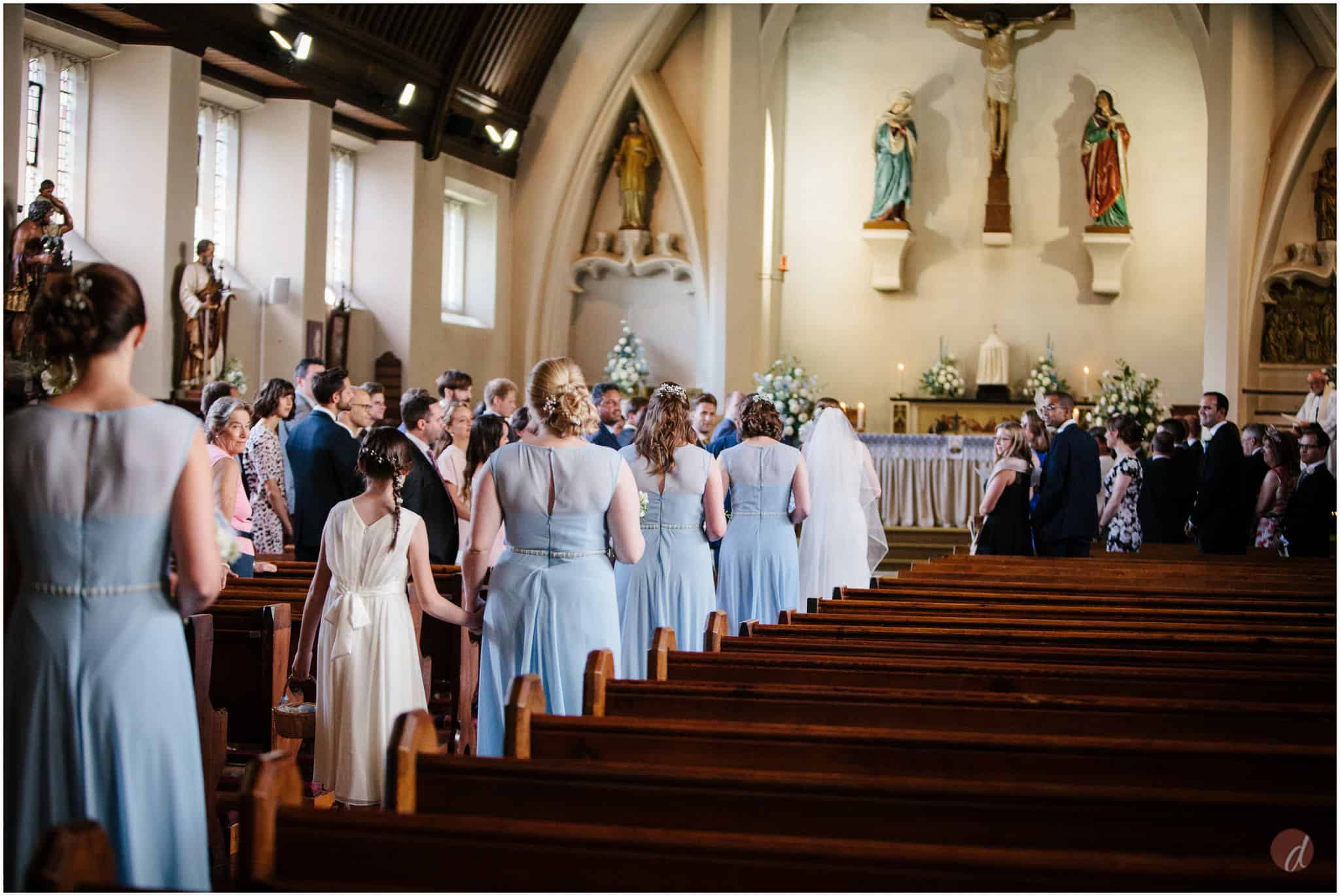 Our Lady Help of Christians wedding