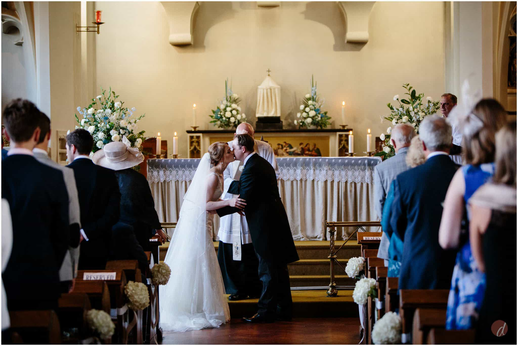 Our Lady Help of Christians wedding photographs