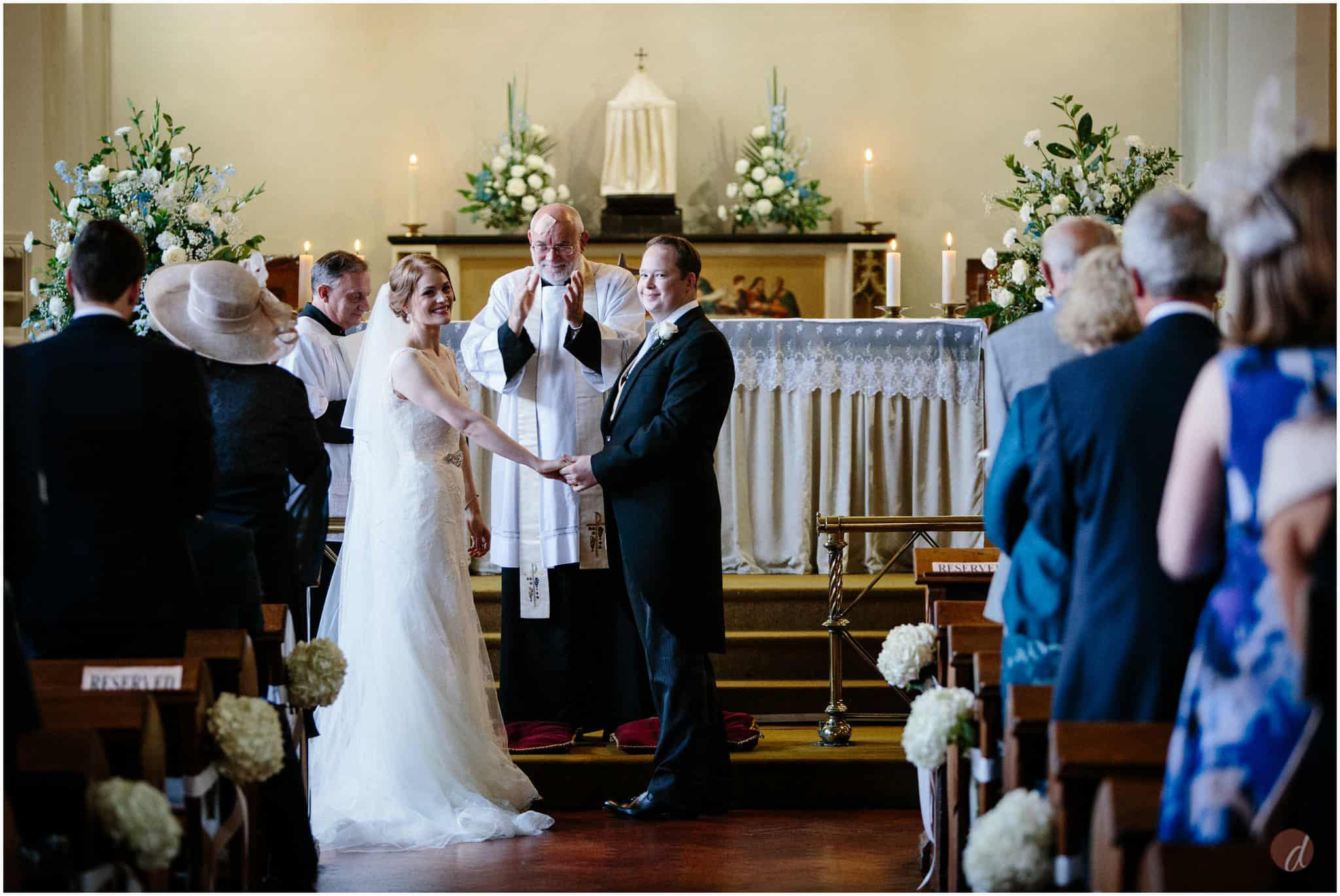Our Lady Help of Christians wedding photographer
