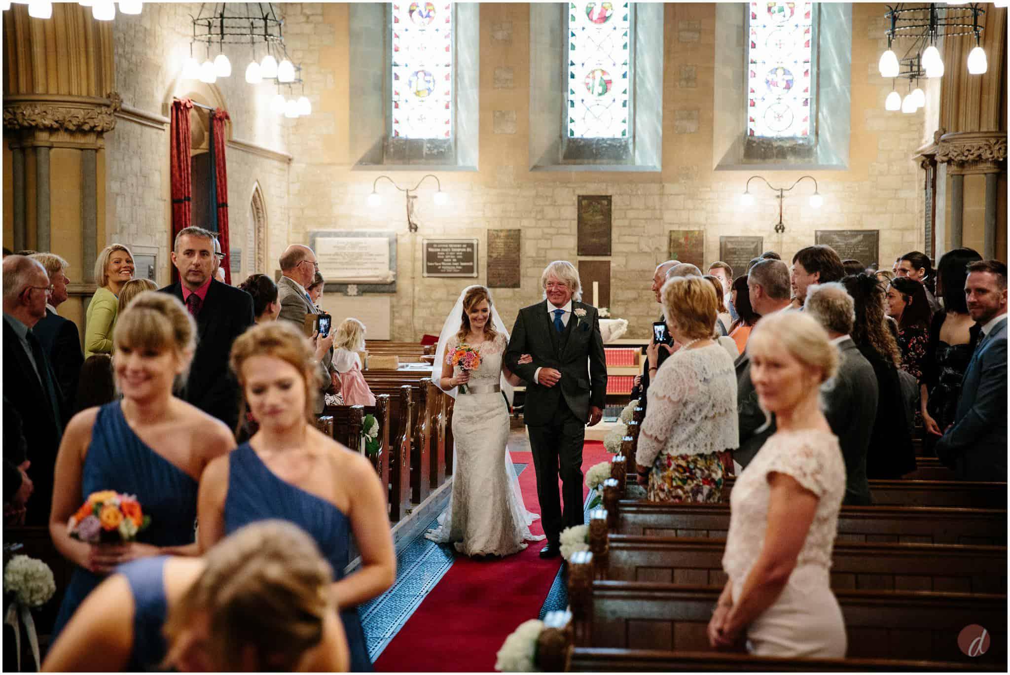 st mary kippington wedding photo