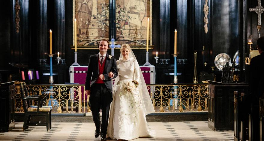 St clement danes wedding photographer