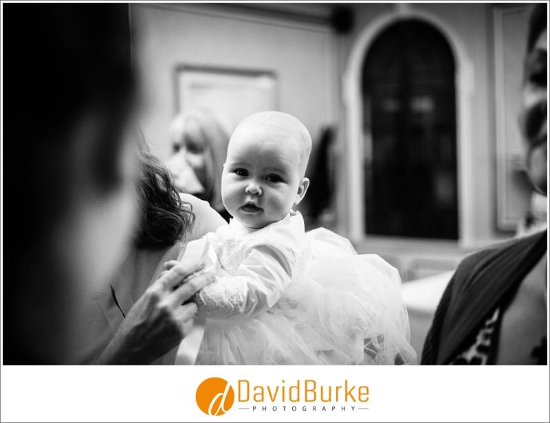 baby at christening