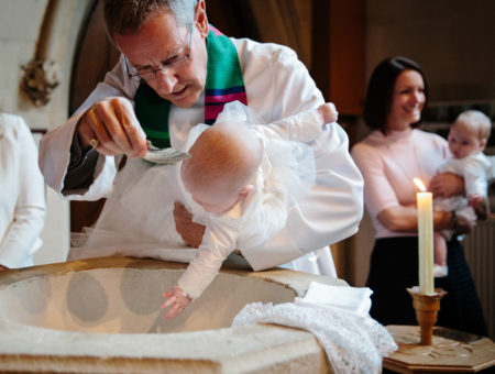 St Marys church & Oatlands Park christening