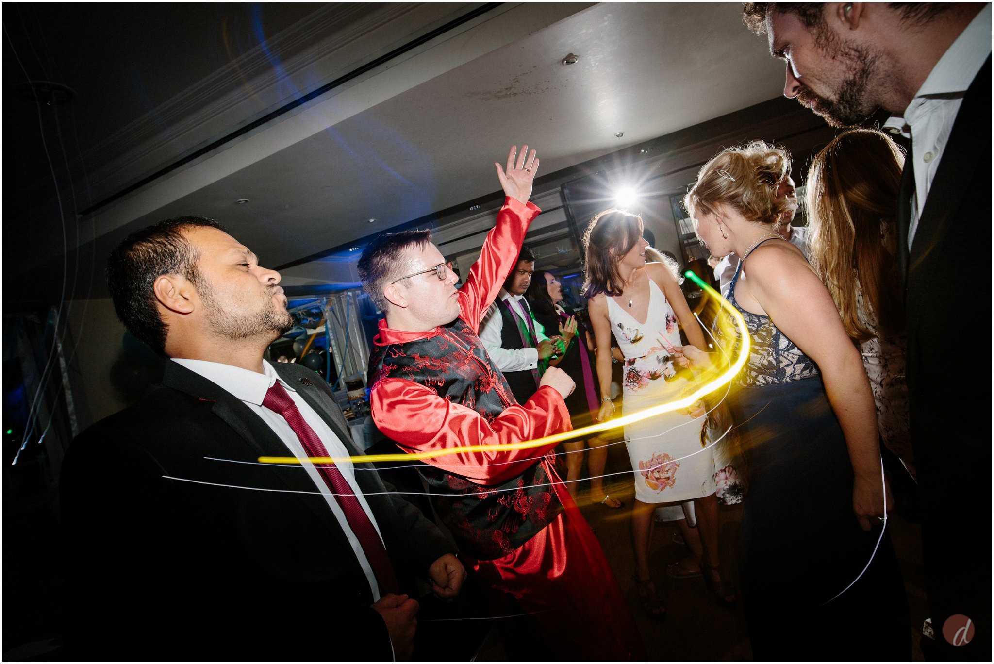 wedding lightsabers