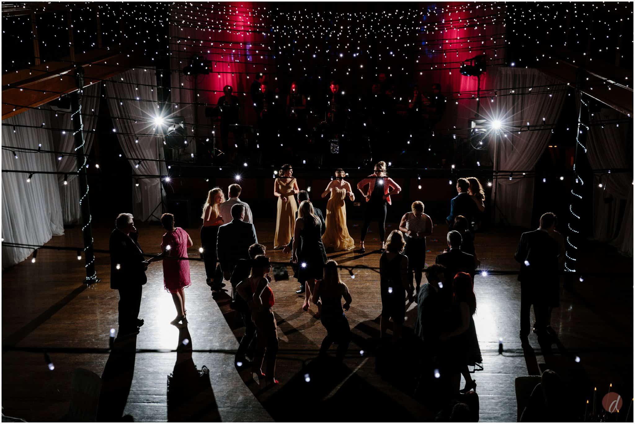 wedding salomons theatre dancing