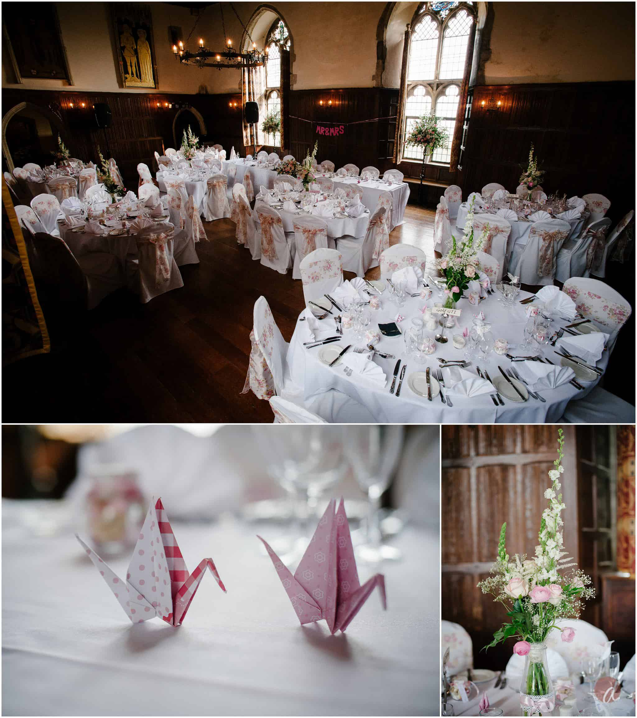 great hall lympne castle wedding