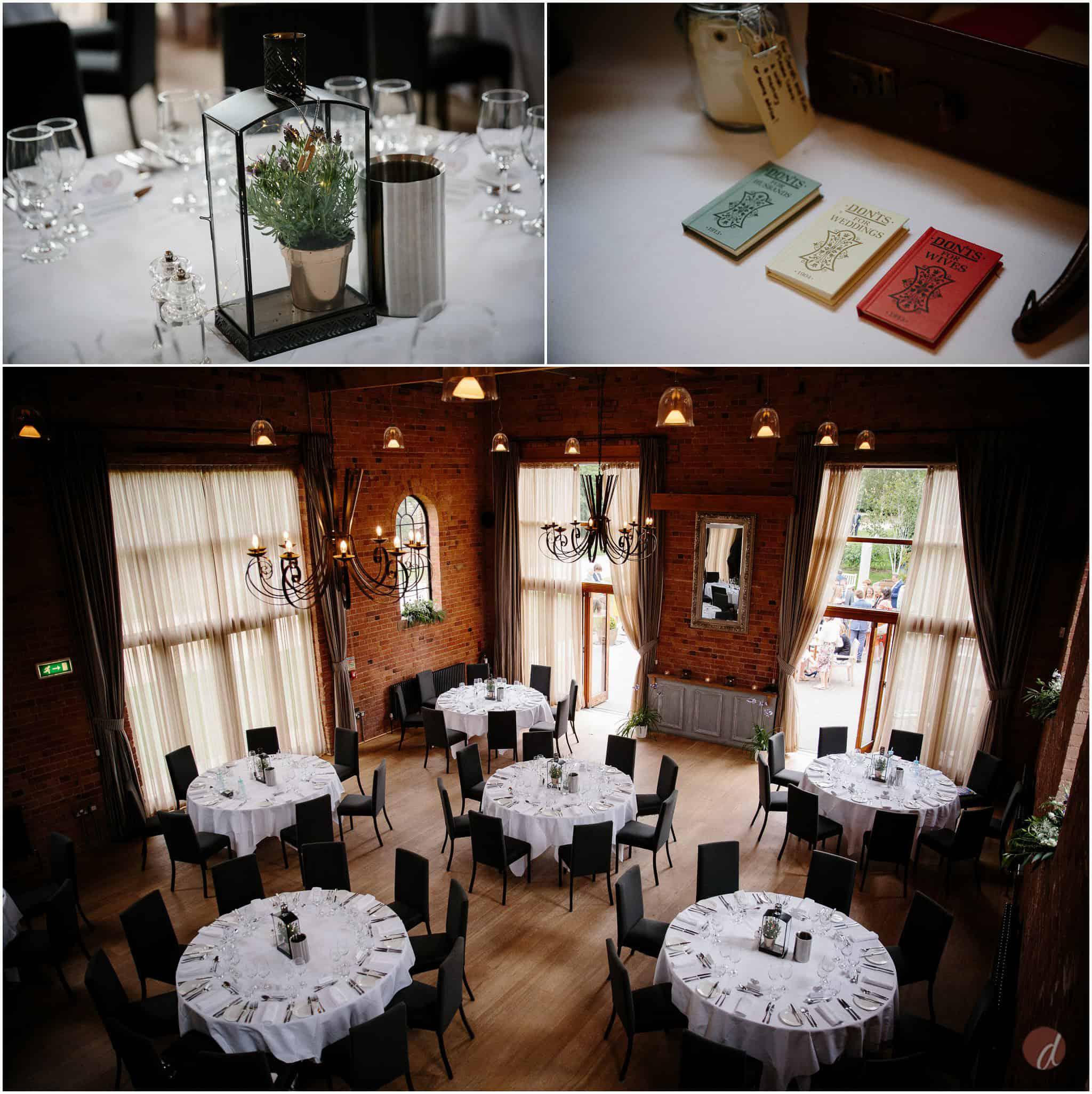carriage hall plumbtree wedding setup