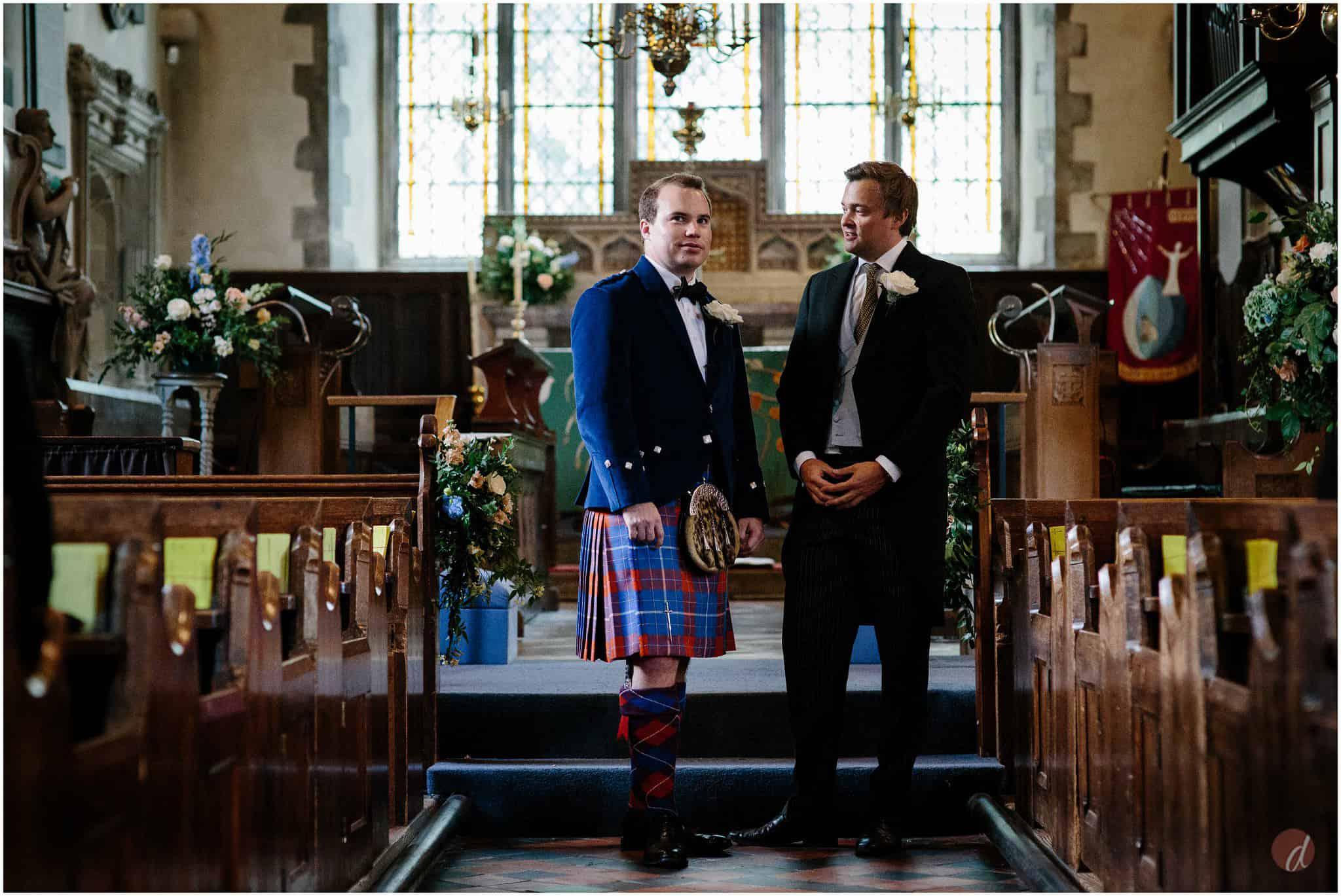 groom at st bartholemews otford