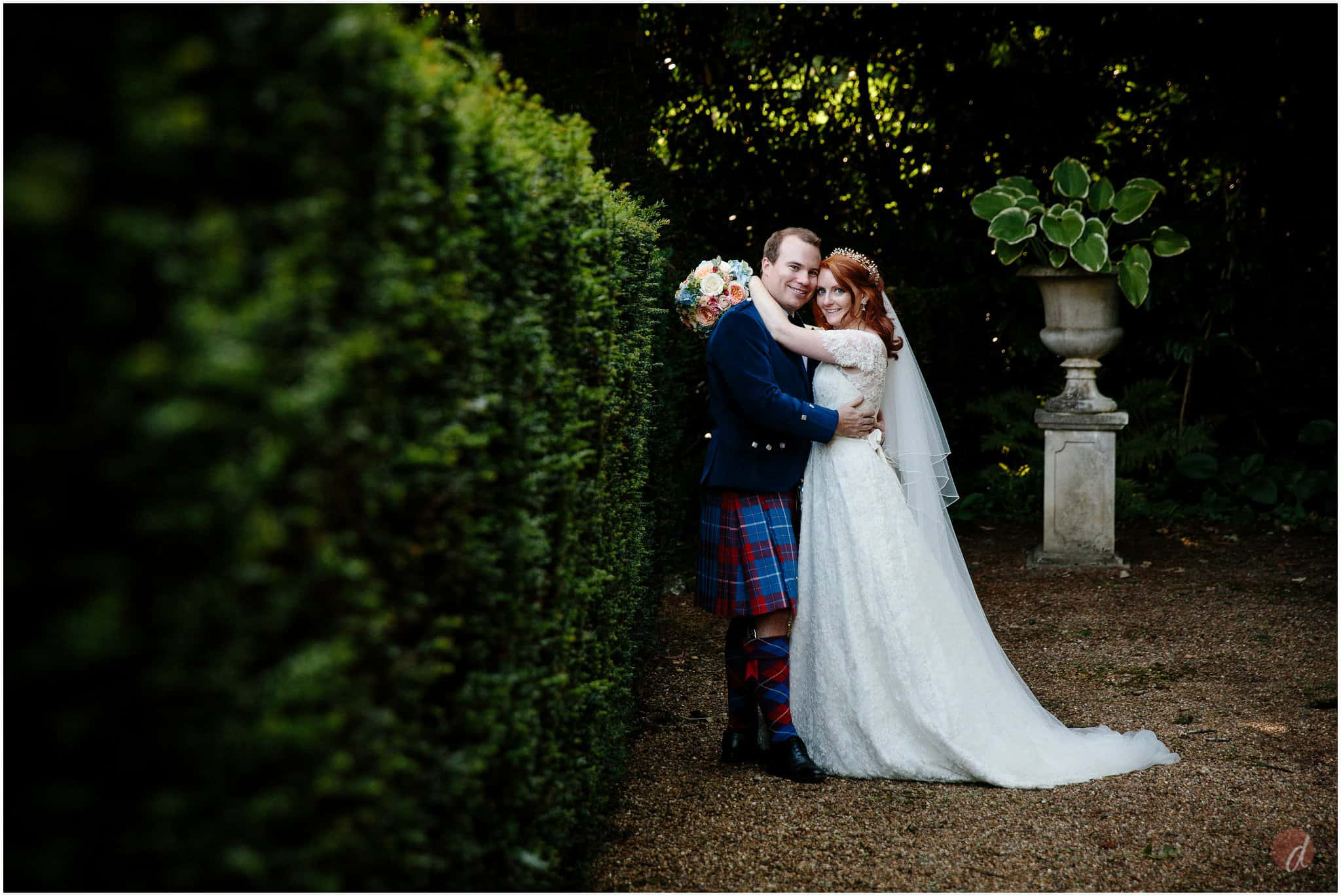 squerryes court wedding photographs