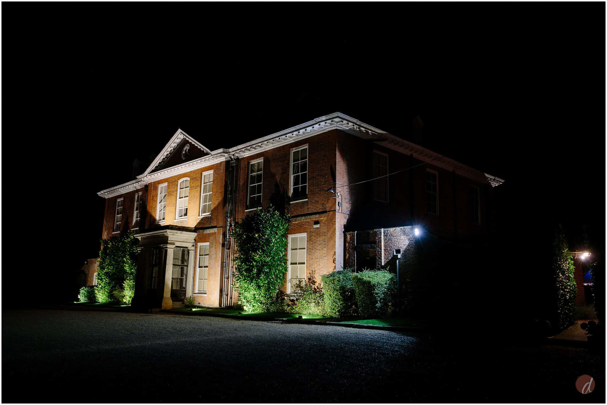 squerryes court at night