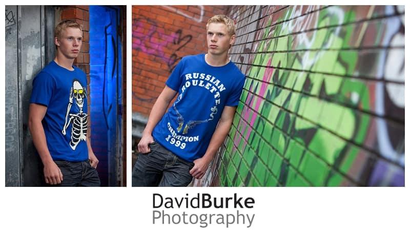 urban fashion shoot