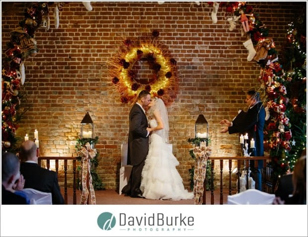 cooling castle barn ceremony