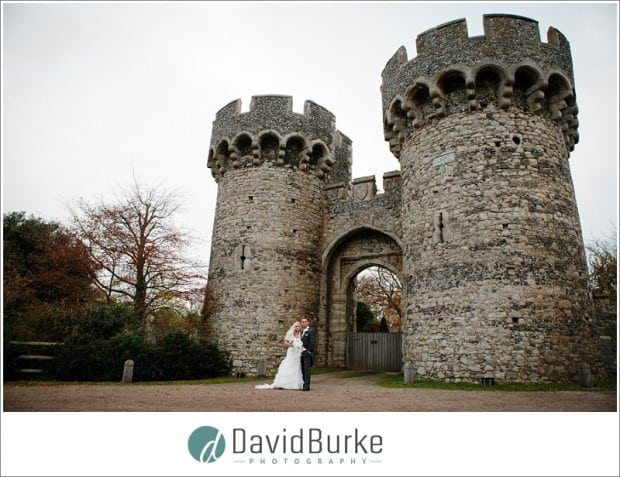 bride and groom cooling castle wedding (28)