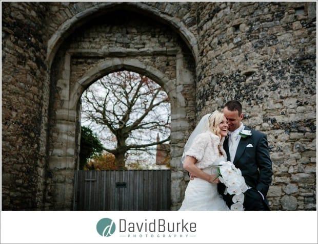 bride and groom cooling castle wedding (27)