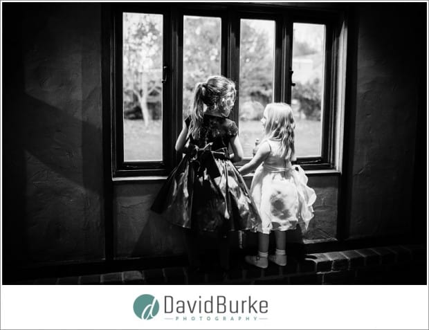 bride and baby cooling castle wedding (20)