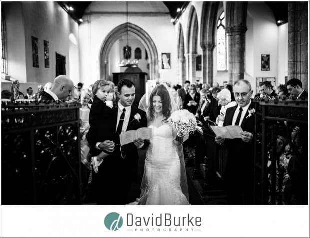 bridal entrance to church
