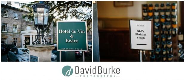 birthday party at hotel du vin