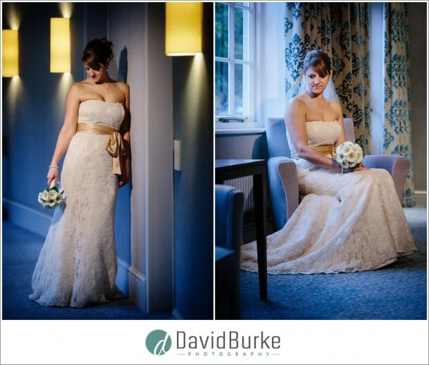 beautiful bride at goodwood hotel