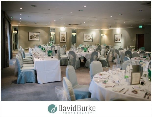 Goodwood Hotel wedding room