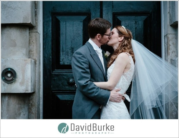 combe bank bride and groom portraits