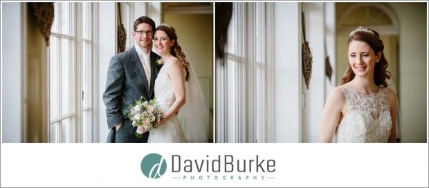 combe bank bridal portrait