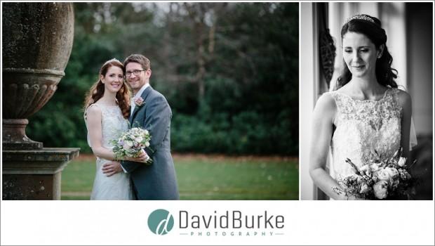 combe bank school bride and groom
