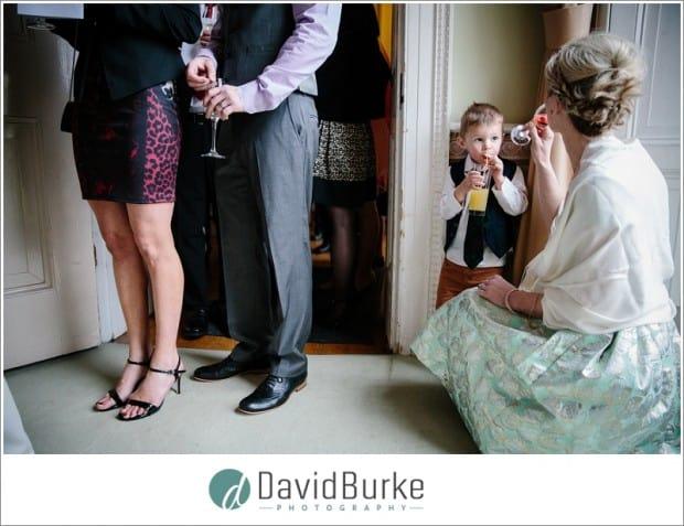 wedding guests combe bank school