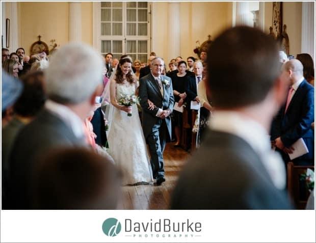 brides entrance combe bank chapel
