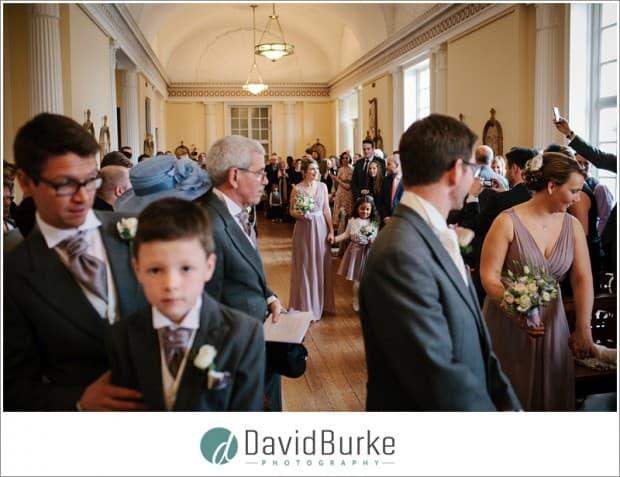bridesmaids entrance combe bank