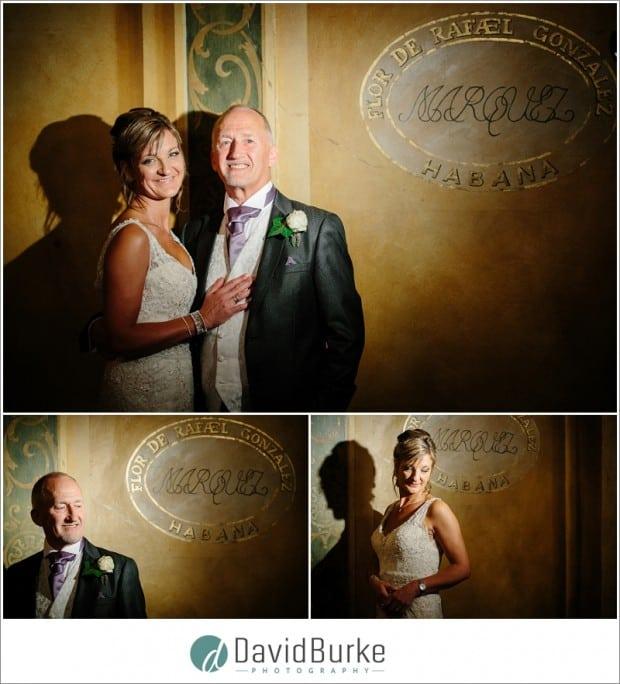 bride and groom havana room