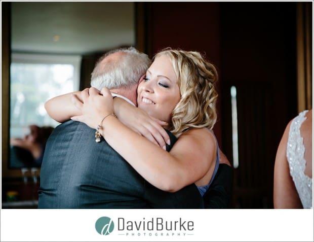 girl hugging grandad