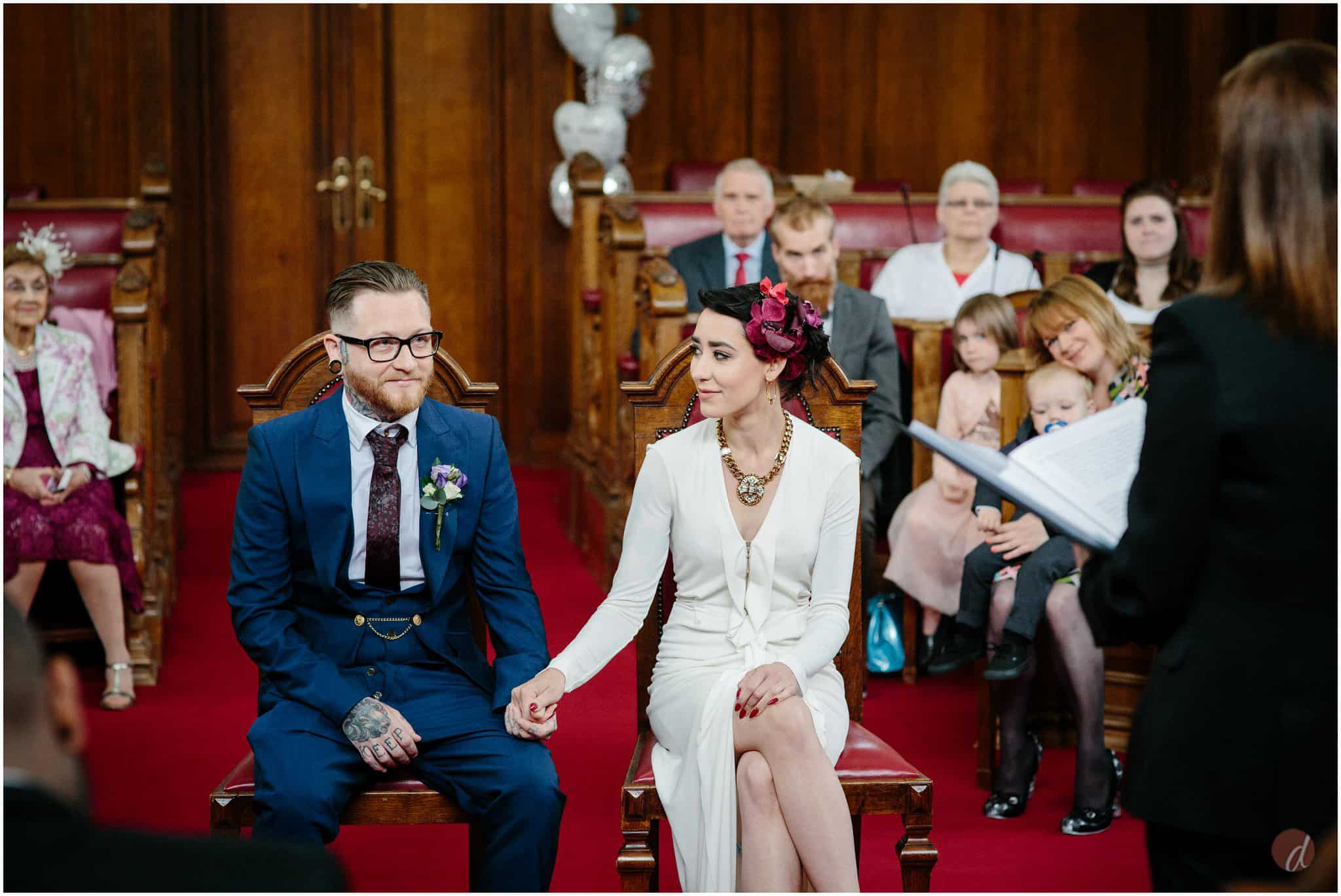 islington town hall wedding photographs
