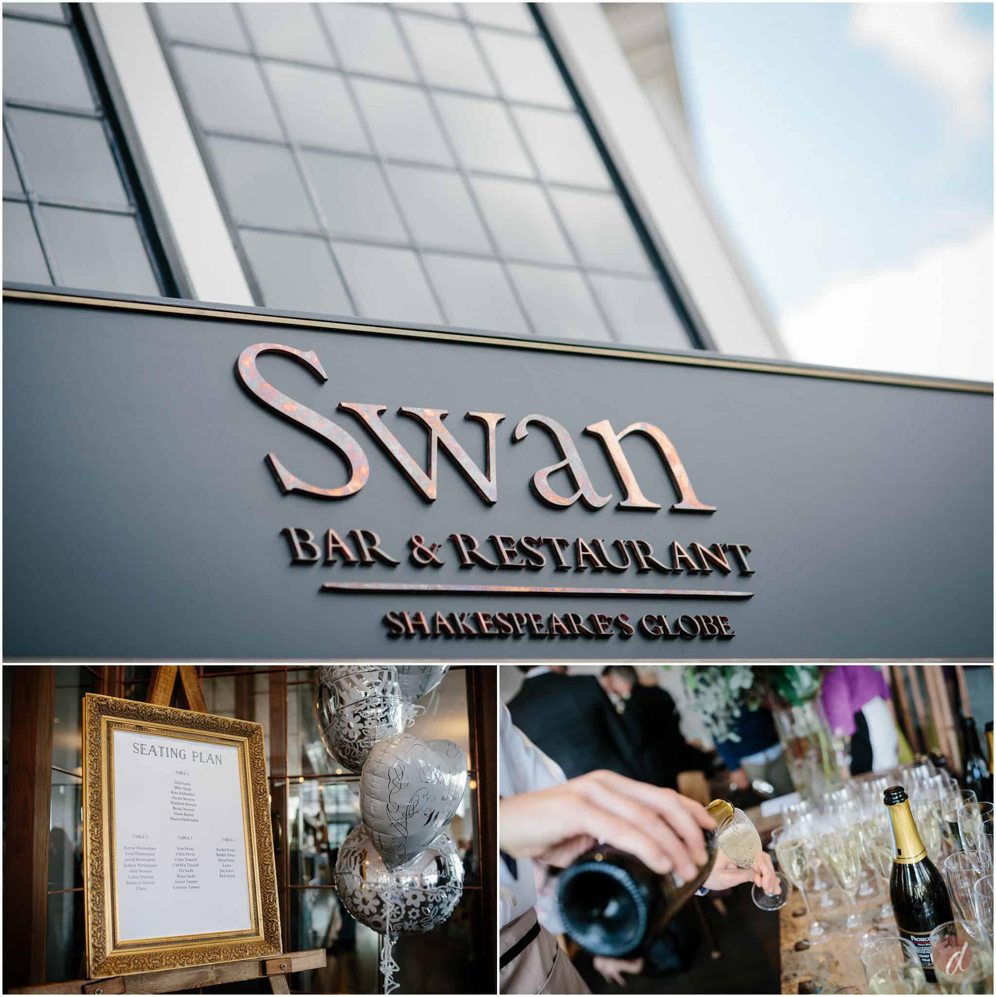 swan at the globe