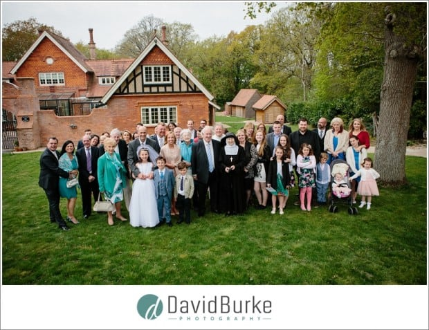 first holy communion group shot