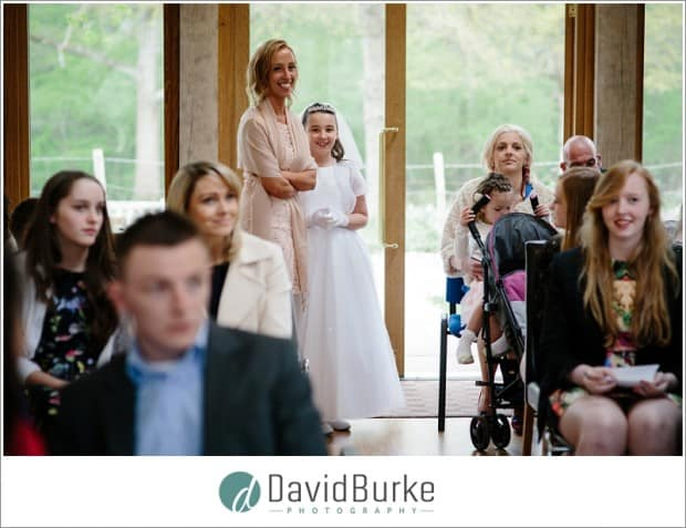 mum and daughter first holy communion