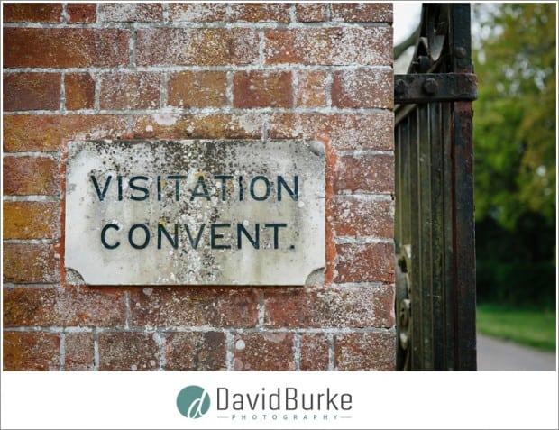 vistation convent sign