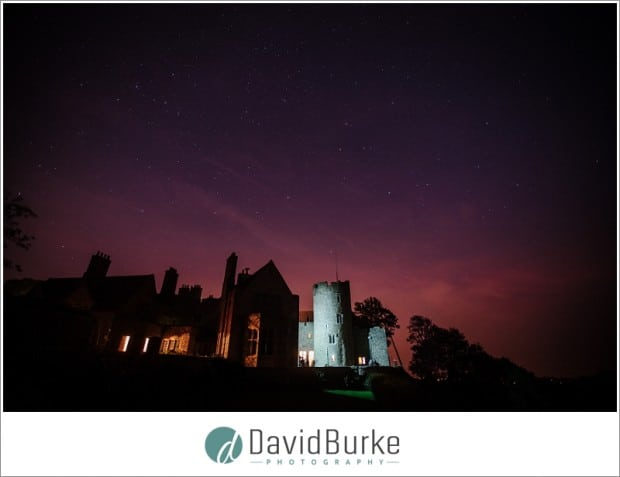 lympne castle at night