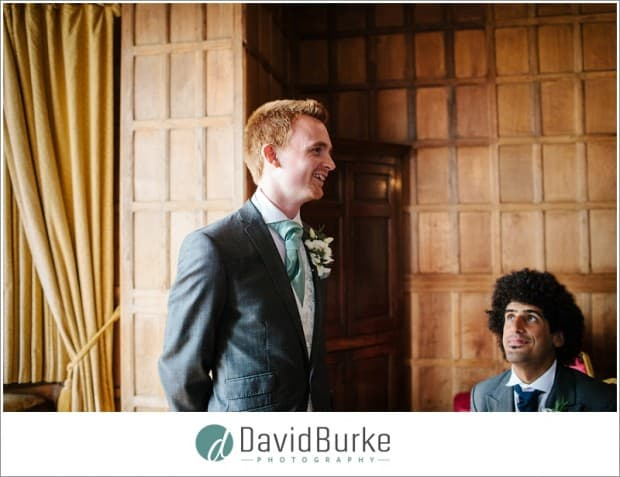groom and bestman lympne castle