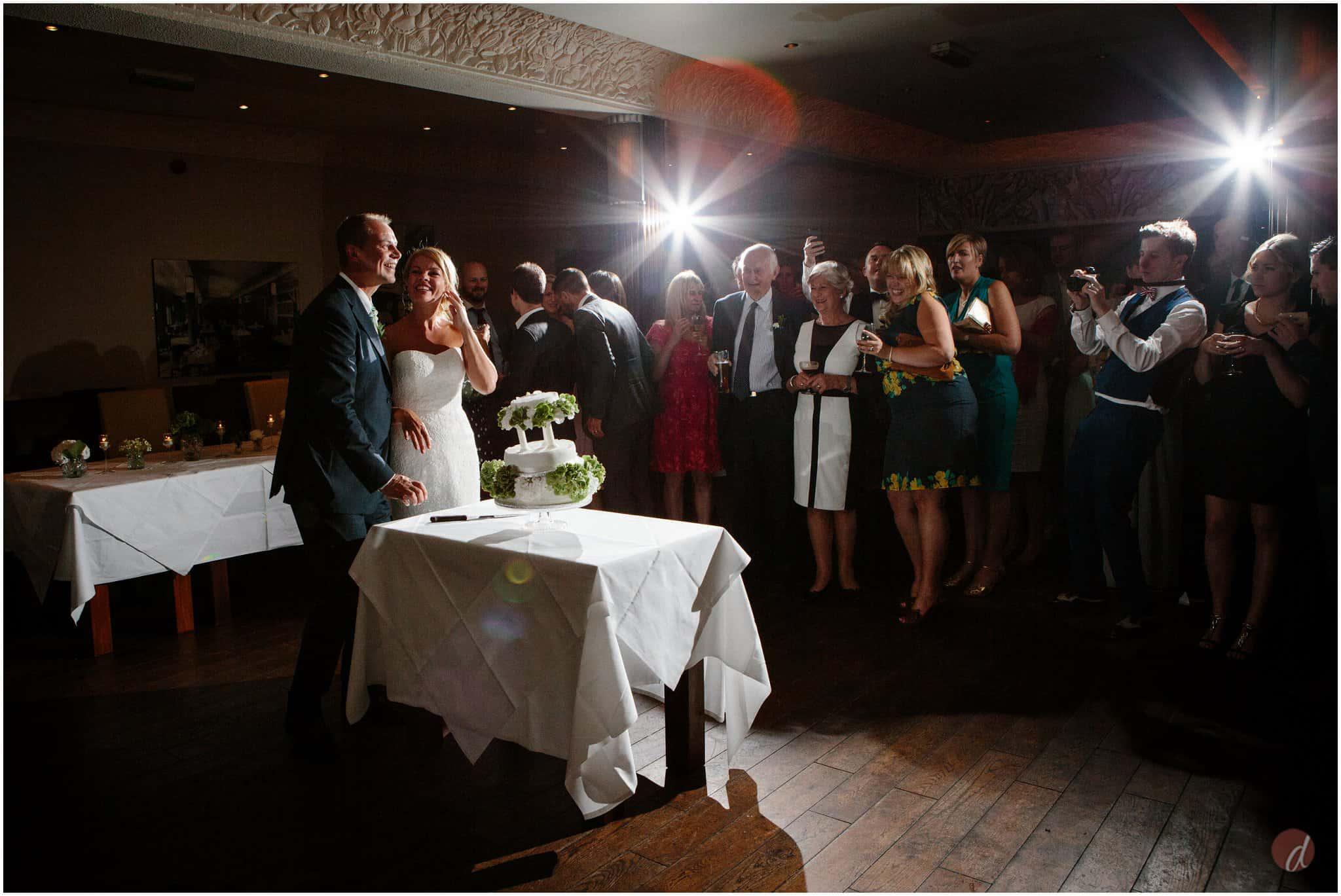 cake cut the gatsby wedding