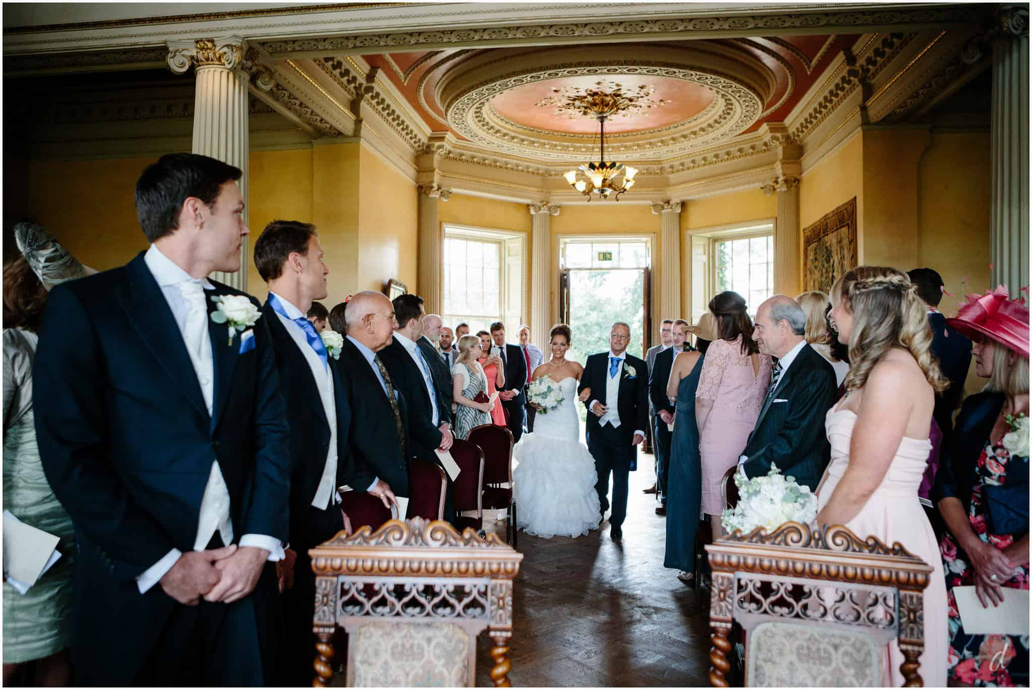hampton court house wedding ceremony