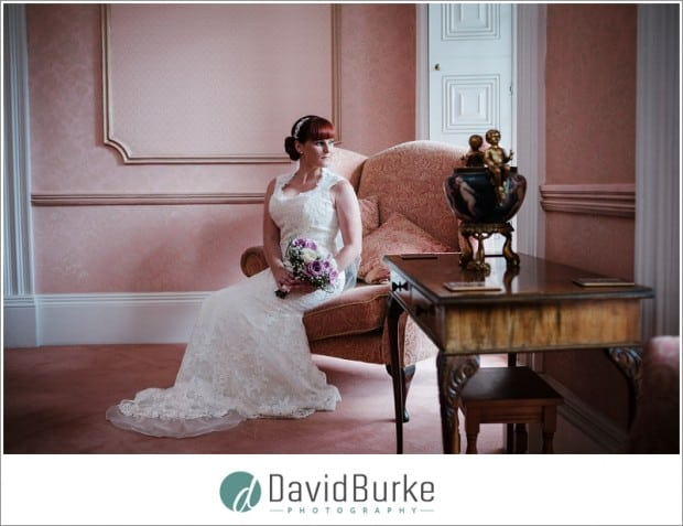 beautiful bride at little hermitage