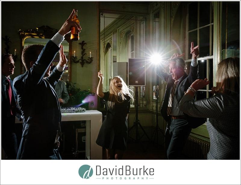 dancing wedding guests hotel du vin
