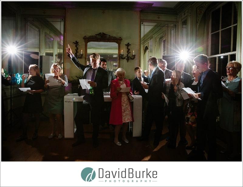 more singing at dutch wedding