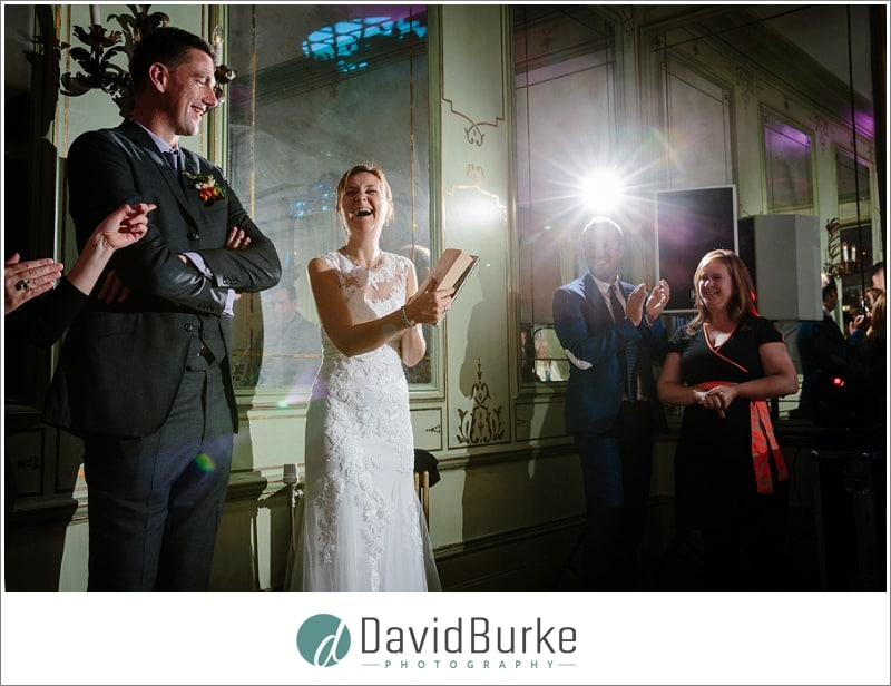 gifts for bride during wedding speeches